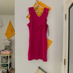 pink/purple guess dress